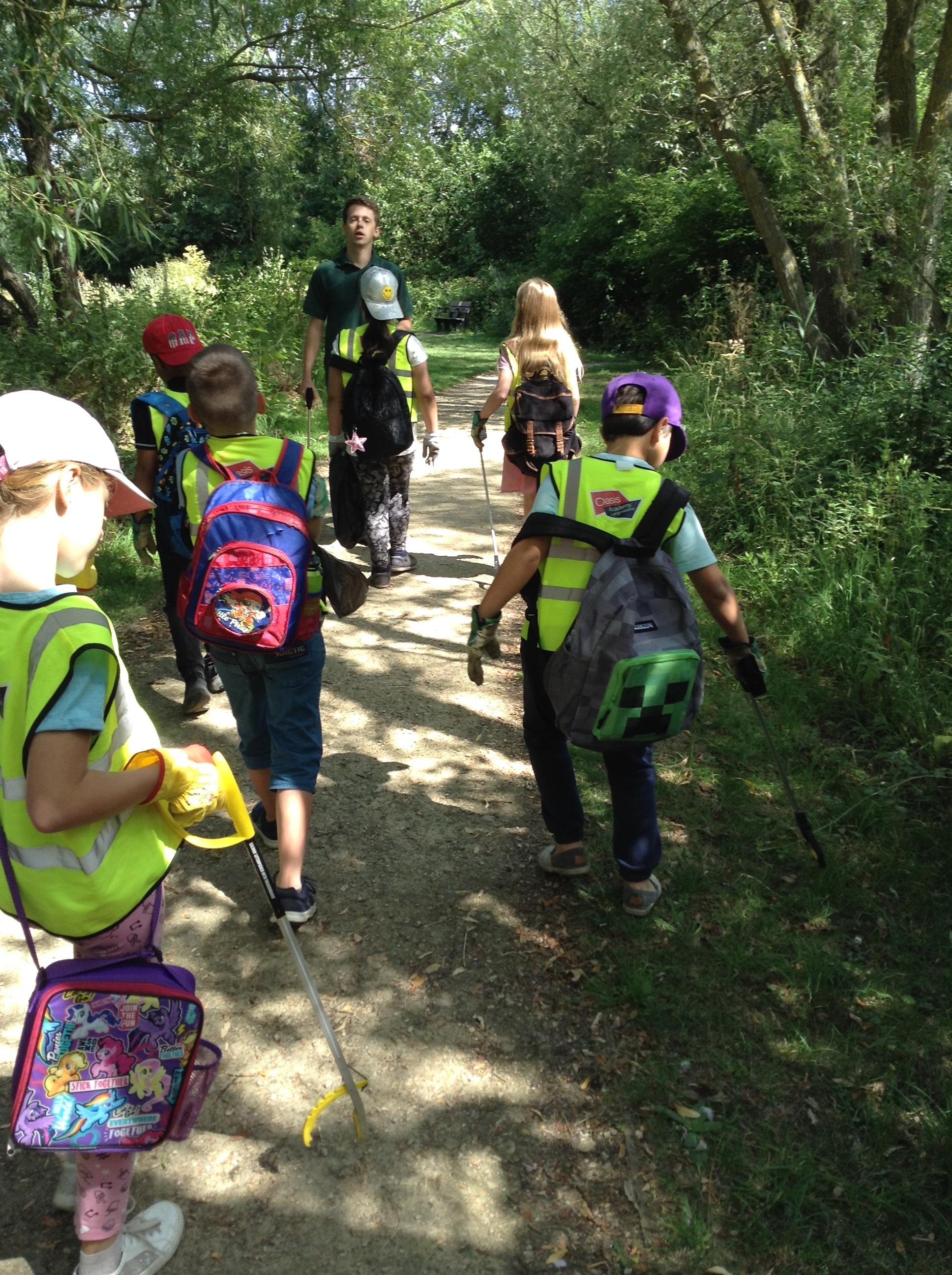 Year 4 visit to Biss Meadows Country Park