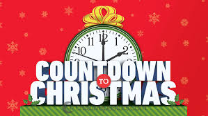 Countdown to Christmas- dates for your diary